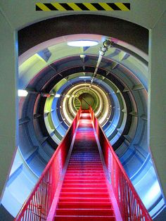 Cool Photo Locations: As Simple As A Staircase Amazing Architecture, Architecture Details, Interior Architecture, Futuristic Architecture, Gym Interior, Garden Steps, Stairway To Heaven, Sci Fi Movies, Weird And Wonderful