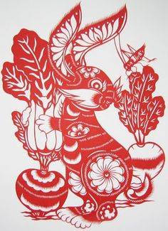 red rabbit art