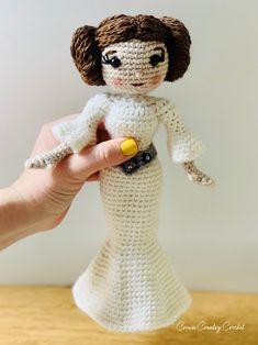 Crochet Animal Amigurumi, Crochet Baby Toys, Crochet Animal Patterns, Stuffed Animal Patterns, Amigurumi Patterns, Crochet Dolls, Crochet Animals, Star Wars Crochet, Crochet Geek