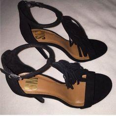 NEVER USED, black heels Black heels.                                                                                                                                                                                                   🌸 Fast shipper 🌸 Accept reasonable offers 🌸 I do bundle discounts too                                                 🌸 No trades Shoes Heels