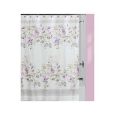 Tenda per doccia rose shabby chic