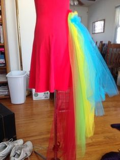 how to make a parrot costume with tulle - Google Search