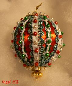 How To Decorate Polystyrene Balls Satin Styrofoam Balls Covered With Ribbon Lace And Beads