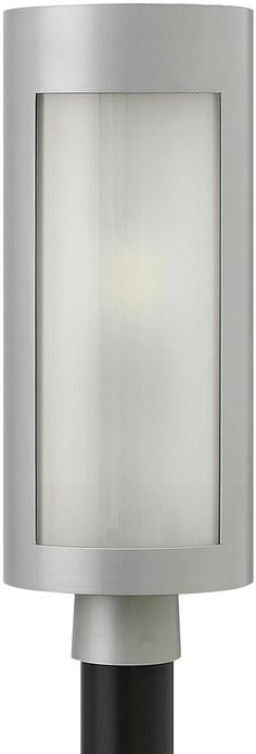 """0-015954>21""""""""h Solara 1-Light Post Outdoor Titanium"""
