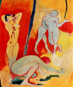 1906 – LA JOIE DE VIVRE. Henri Matisse