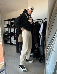Layering Outfits, Casual Outfits, Fashion Outfits, Casual Wear, Men Street Look, Street Wear, Streetwear Mode, Streetwear Fashion, School Looks