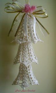 Pink Rose Crochet: Resultados da pesquisa sino de natal