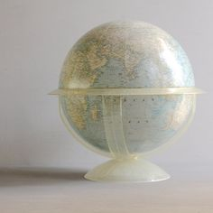Vintage National Geographic Globe by lovintagefinds on Etsy