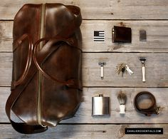 Traveling essentials for the gentleman