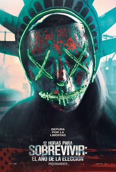 The Purge: Election Year - Purge - Blumhouse - movie poster - horror 2016 - All Movies, Scary Movies, Great Movies, Movies Online, Awesome Movies, Iconic Movies, Horror Movie Posters, Horror Movies, Love Movie