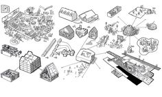 How Architecture Is Born: 12 Joyful Sketches by CEBRA and the Buildings They Helped Shape