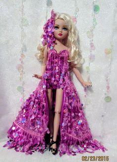 """Pink Sparkle"" for Ellowyne Prudence Amber Lizette by MS Dee | eBay happydaisydolls"