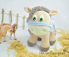 PATTERN  Pony Amigurumi Crochet от HavvaDesigns на Etsy