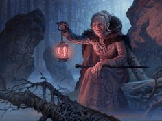 MtG Art: Kindly Stranger from Shadows over Innistrad Set by Ryan ...