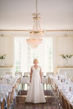 Beautiful wedding setting, publiched at http://dittbrollop.se Foto by: http://davidberg.se/