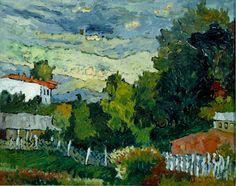 Peisaj in Finochio,u/p,40/50cm.
