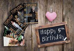 Febbraio 2015: TOP LOOK Magazine compie cinque anni. http://www.toplook.it/2015/02/03/top-look-sguardo-sulleccellenza-5-anni-con-voi-27171