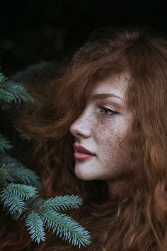 Ygritte is the most famous of the fire-kissed. Yet Maja Topčagić's portraits of red-heads are no less cool.