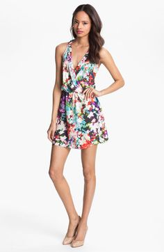 Parker Surplice Silk Dress available at #Nordstrom