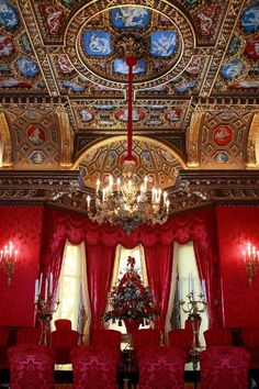 William Kent Room at Christmas