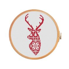 Deer nordic pattern - cross stitch pattern. Floss: DMC Canvas: Aida 14 Grid Size: 44W x 85H Design Area: 3,00 x 5,93 (42 x 83 stitches) Number of colors: 2 Use 2 strands of thread for cross stitch. ONLY PATTERN! This PDF file counted cross stitch pattern is available for instant download. This PDF pattern Included: - Color image of the finished design - Color Block Chart - Color Floss Legend with DMC stranded cotton. In order to open these files you will need Adobe Reader, which can be...