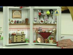 Santa Receita   Quadro de minicozinha por Tânia Bettini - 02 de maio de 2016 - YouTube
