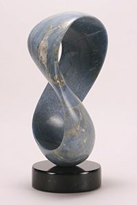AZURE 'Blue' Madagasgar Marble (Blue) 18in.x 8in.x 8in.