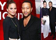 John Legend Chrissy Teigen Check out Delta's New Terminal - Eager to check out what's new in air travel, Chrissy Teigen and John Legend were on hand for the opening of on Wednesday (May in New York