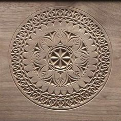 """Chip carving - 6"""" x 6"""" - American Woodworker"""