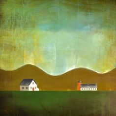 Large Contemporary Painting - Oil Painting - Modern Farmhouse - 30 x 36 Inch - Ready to Ship