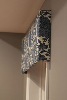 Fabric Covered Cornice Board Amp How To Hang It Favorite