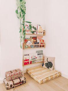 Toddler Playroom, Toddler Bed, Playroom Design, Toy Rooms, Little Girl Rooms, Girls Bedroom, Room Inspiration, Baby Room, Kids Room