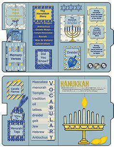 Hanukkah Lapbook #Bible #Yashua