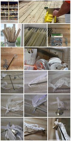 DIY Wedding Wands - Upcycled Treasures #weddingwands So glad I found third! Much better than gluing them on!