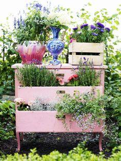 A creative way to let your garden grow