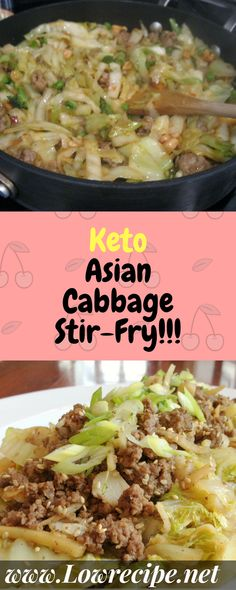 PinterestFacebookTwitterGoogle+This keto stir-fry has a telling nickname: crack slaw. Yes, it really is that good! Easy to make. Amazingly tasty… Ingredients   [ For 7 to 8 people ]    [   Preparation time : 22 minute  –  Cooking time : 35 minutes  ] 12⁄3 lbs green cabbage 5 oz. butter 11⁄3 lbs ground beef 1... Continue Reading →