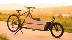 Turn the bike you own into a cargo bike, and back again, with the LIFT
