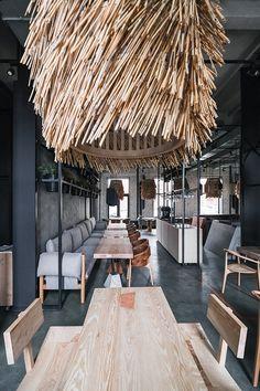 New design cafe interior inspiration 24 Ideas Restaurant Interior Design, Commercial Interior Design, Cafe Interior, Commercial Interiors, Beach Restaurant Design, Luxury Interior, Scandinavian Restaurant, Casa Magnolia, Cafe Design