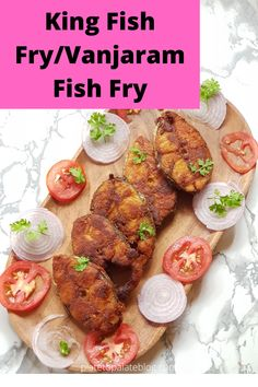 Vanjaram Fish Fry/King Fish Fry is a simple and easy fish fry recipe prepared in a few minutes. It needs just a few spice powders which, are readily available in your pantry.