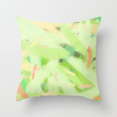 Let there be color I Throw Pillow