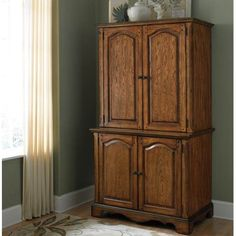 home styles country casual office cabinet and hutch oak casual office cabinets
