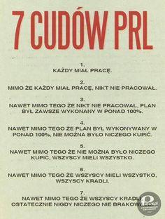 7 cudow PRL