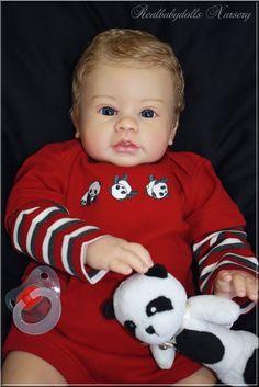 Reborn nr 118 / Adopted/ Keyden Lee Middleton - Realbabydolls Nursery