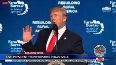 🔴FULL: President DONALD TRUMP Speech in Nashville at American Farm Burea...