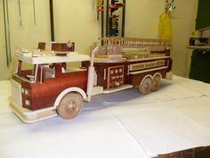 Fire Engine - by LarryN @ LumberJocks.com ~ woodworking community