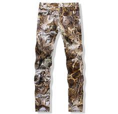 36b365c5e76 Bahadır Wollis Çamtarz giyim · Traffic Slim Fit Snakeskin Pants Skinny  Jean ler