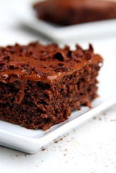 Bolo de Chocolate de Liquidificador preferido das crianças sem glúten e sem lactose