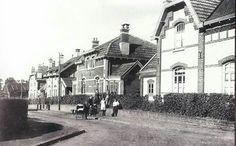 Mijnwerkerskolonie Leenhof, begin vorige eeuw.