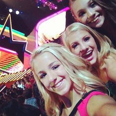 Chloe Lukasiak, Paige Hyland, and Maddie Ziegler at the Teen Choice Awards