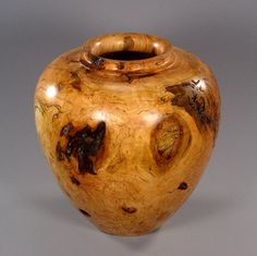 Woodturned Vase by Brad Sears Fine Woodturning, $775.00